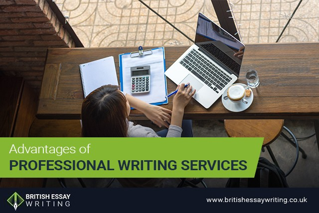 Advantages of Professional Writing Services
