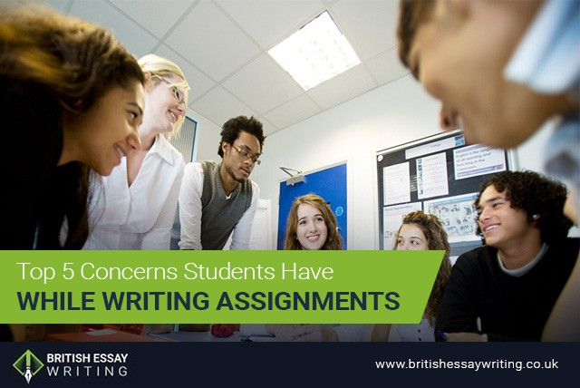 Top 5 Concerns Students Have While Writing Assignments