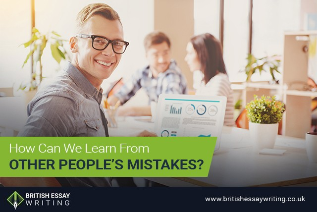 How Can We Learn From Other People's Mistakes?