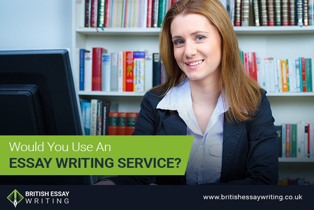 Would You Use an Essay Writing Service?