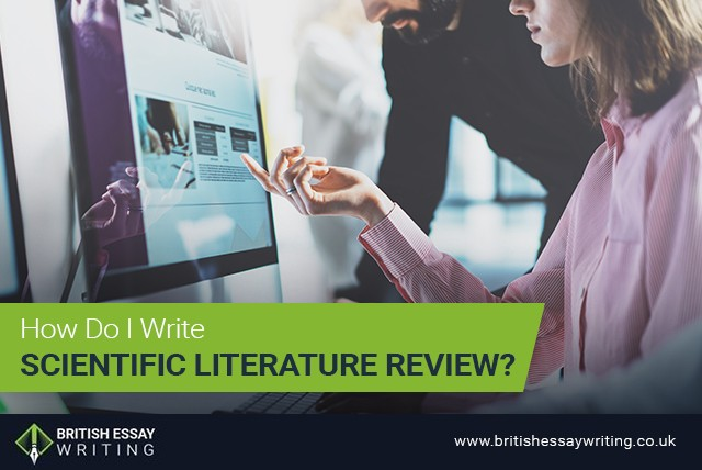 How Do I Write Scientific Literature Review?