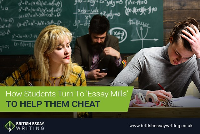 How Students Turn To 'Essay Mills' To Help Them Cheat